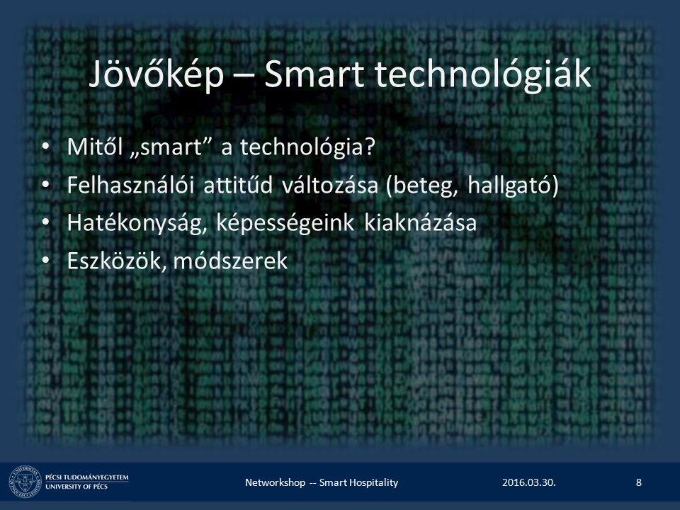"""Jövőkép – Smart technológiák Mitől """"smart a technológia."""