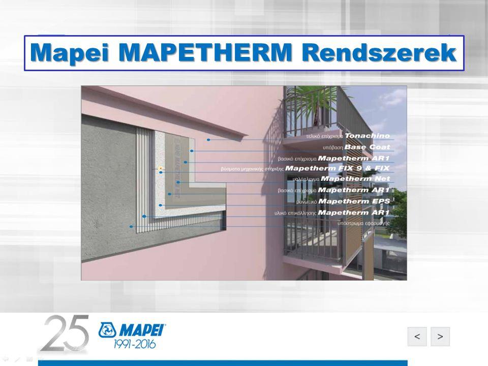 Mapei MAPETHERM Rendszerek