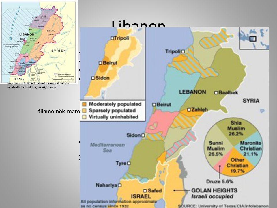 Libanon 1943.november 22.
