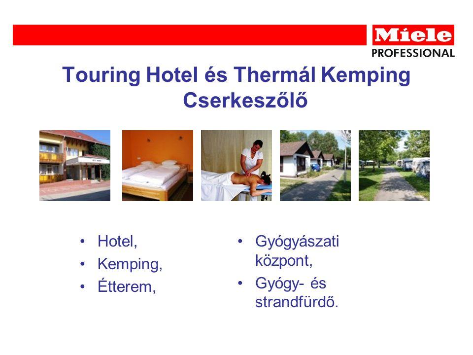 Touring Hotel és Thermál Kemping Cserkeszőlő Hotel, Kemping, Étterem, Gyógyászati központ, Gyógy- és strandfürdő.
