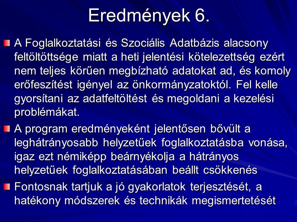 Eredmények 6.