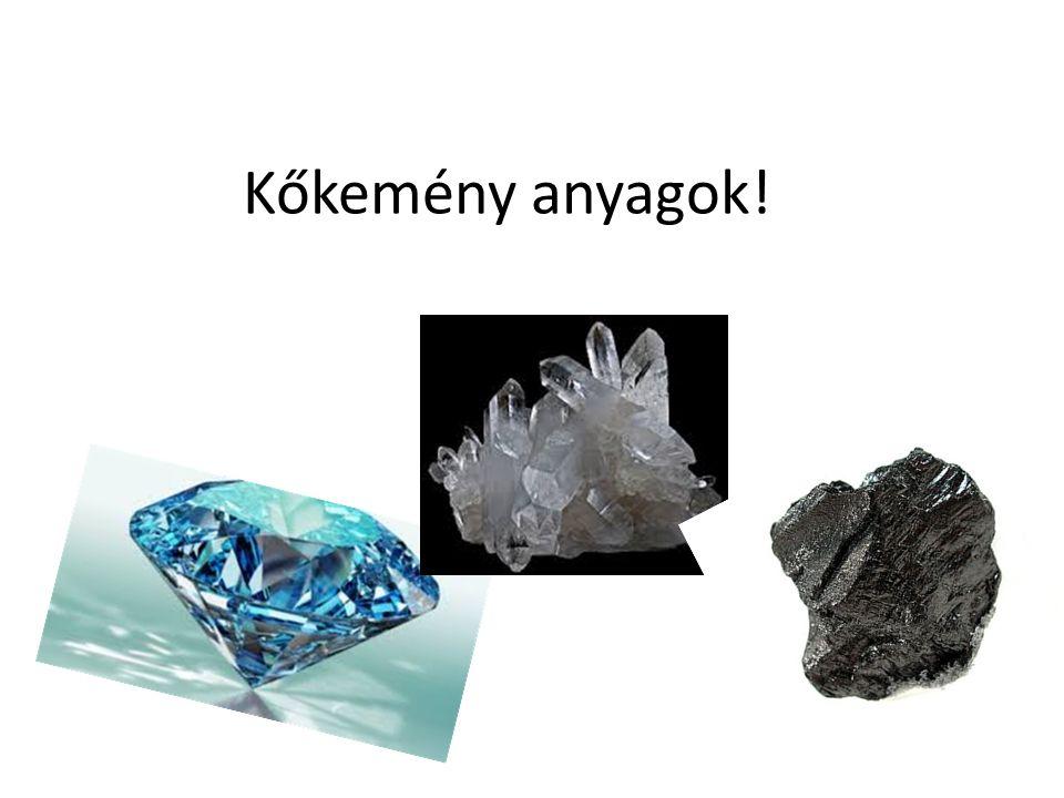 Keménységi skála Fridrich Mohs (1812) – ásványtan professzor: ásványok keménységi skálája:
