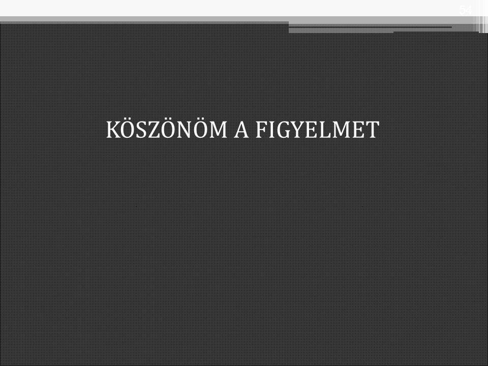 KÖSZÖNÖM A FIGYELMET 54