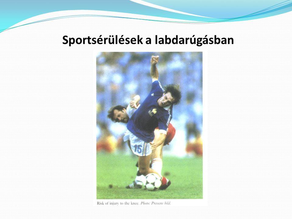 Sportsérülések a labdarúgásban