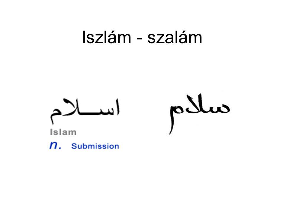 Az iszlám pillérei A hit oszlopai (arkán ad-dín)