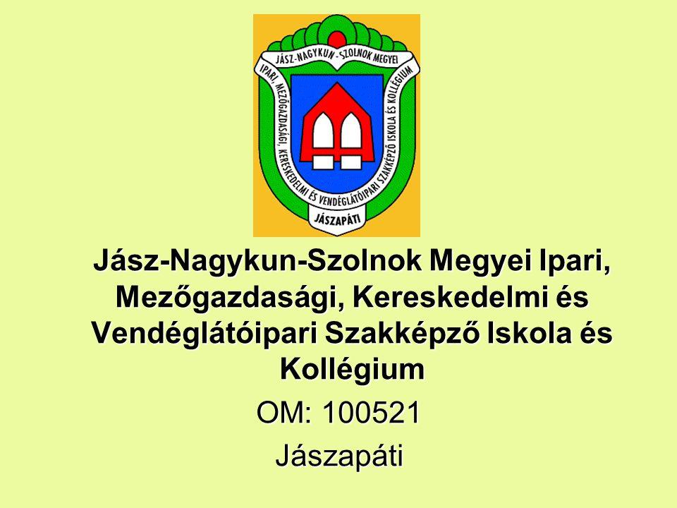 Jász-Nagykun-Szolnok Megyei Ipari, Mezőgazdasági, Kereskedelmi és Vendéglátóipari Szakképző Iskola és Kollégium OM: 100521 Jászapáti