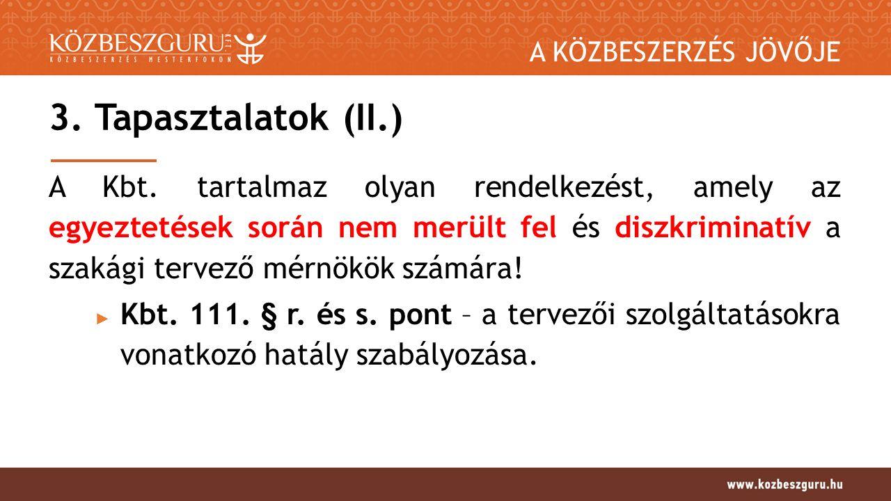 A KÖZBESZERZÉS JÖVŐJE 3.