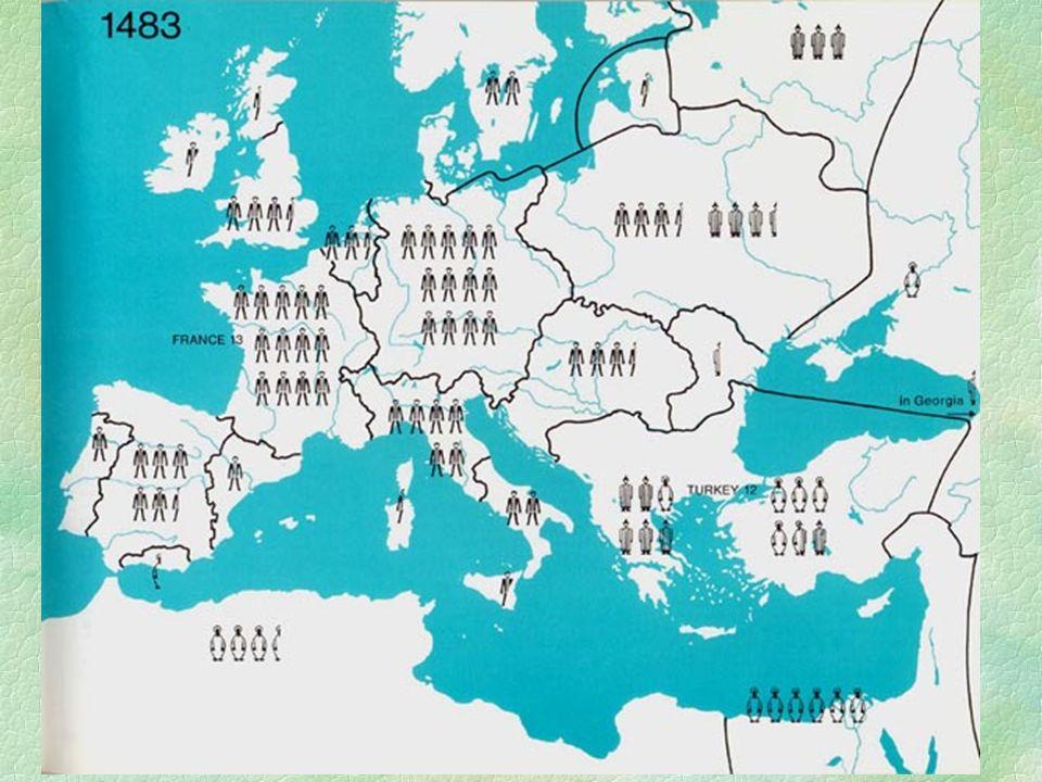 """A felfedezések, gyarmatosítás hatása  Gazdasági:  Új kultúrnövények  """"árforradalom  Bekerítések megindulása  Manufaktúrák számának növekedése  Kereskedelmi útvonalak átrendeződése  Világkereskedelem kialakulása  A kereskedelem központja áthelyeződik az Atlanti-partvidékre (Levante visszafejlődik)  Munkamegosztás Nyugat- és Kelet-Közép-Európa között (centrum - periféria)  Rabszolga - kereskedelem kiterjedése"""