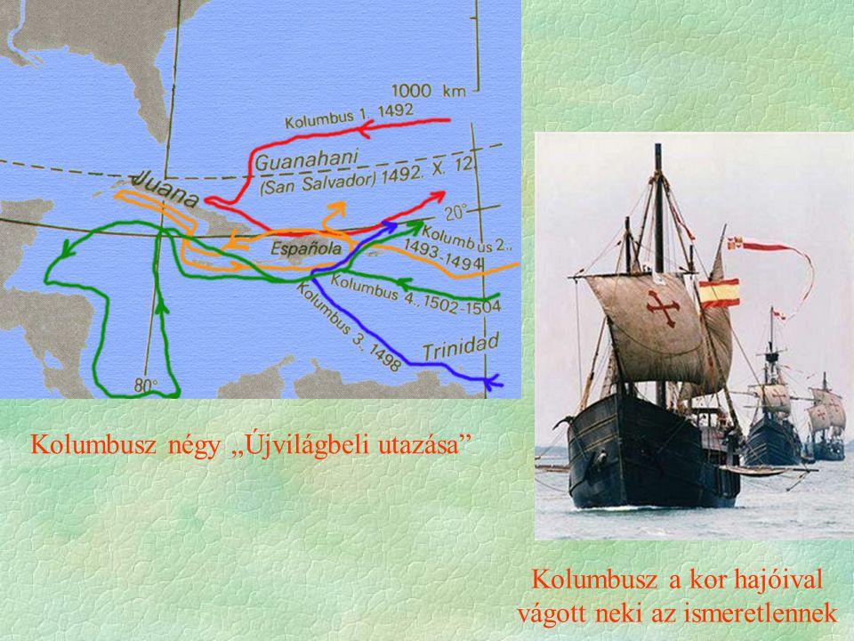  Az új területeket fel kell osztani  Kísérlet a spanyol - portugál hegemónia létrehozására  1494 Tordesillas lényegében ez volt a világ első felosztása  1529 Zaragoza Következmény  Brazília portugál Dél- és Közép Amerika spanyol lesz  De más is szót kér.