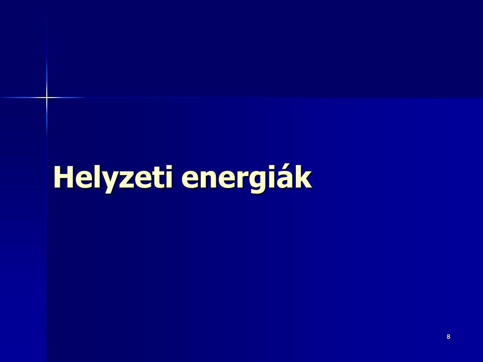 8 Helyzeti energiák