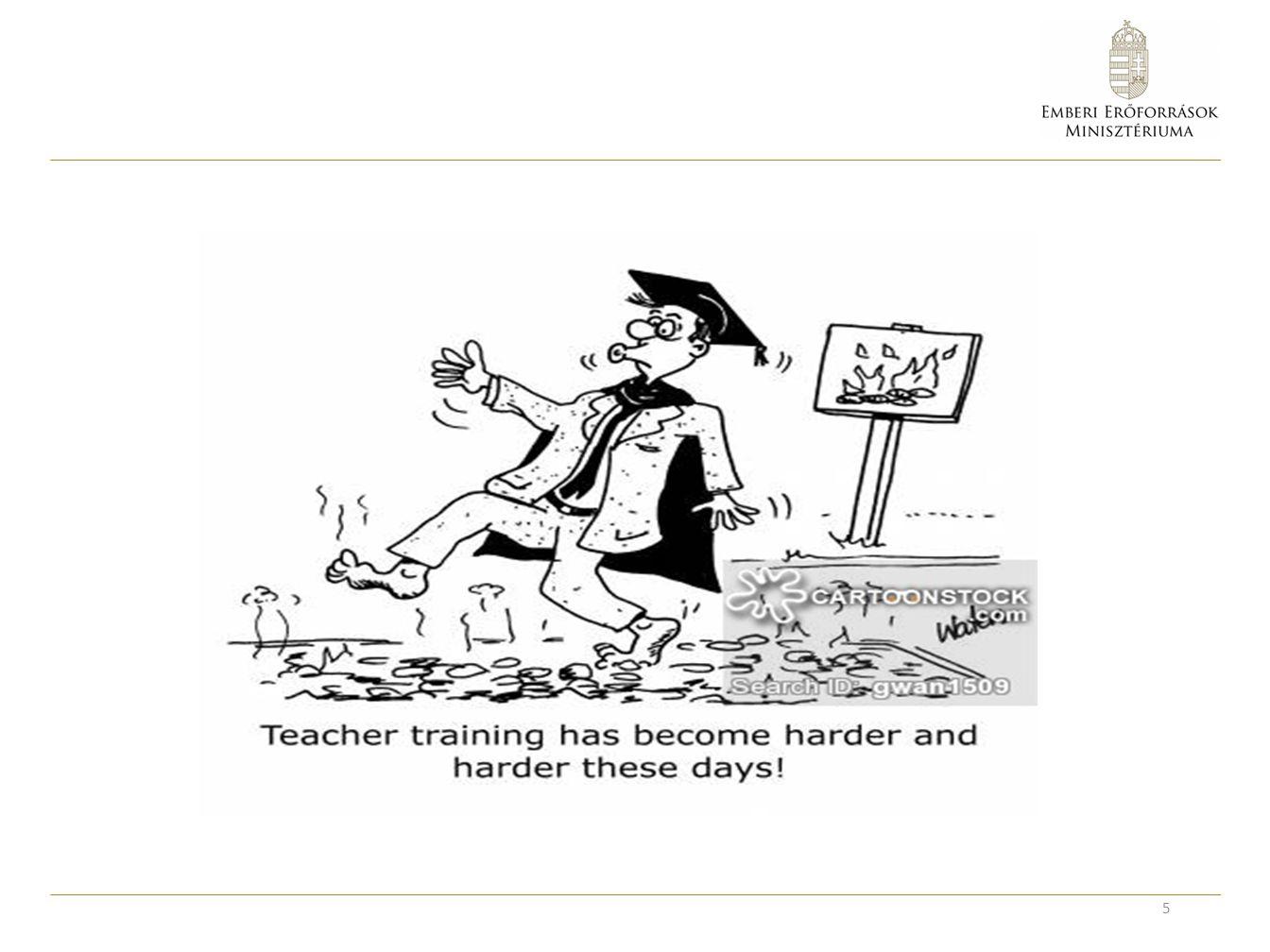 Változtatási javaslatok az osztatlan tanárképzésben A szakmódszertan (tantárgy-pedagógia) erősítése A szakmai és módszertani tárgyak közötti összhang szorosabbá tétele.