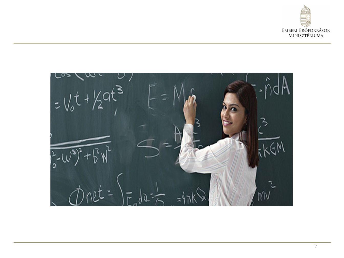 A pedagógus pálya népszerűsítése El kell érni, hogy a jó képességű, elkötelezett fiatalok jelentkezzenek a pedagógusképzésre.