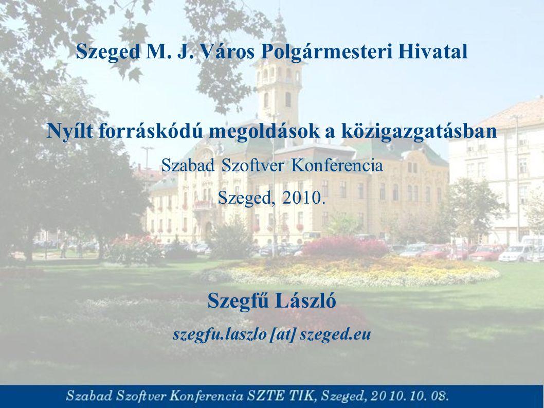 Szeged M. J.