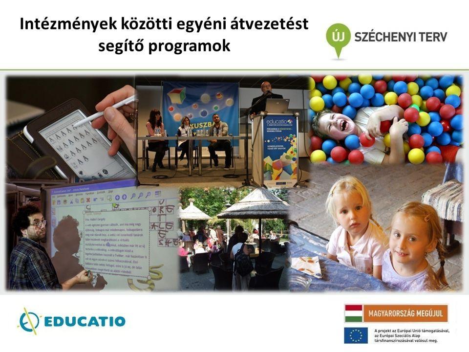 Intézmények közötti egyéni átvezetést segítő programok