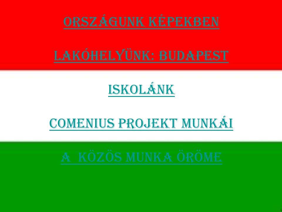 Országunk képekben Lakóhelyünk: Budapest Iskolánk Comenius projekt munkái A közös munka öröme