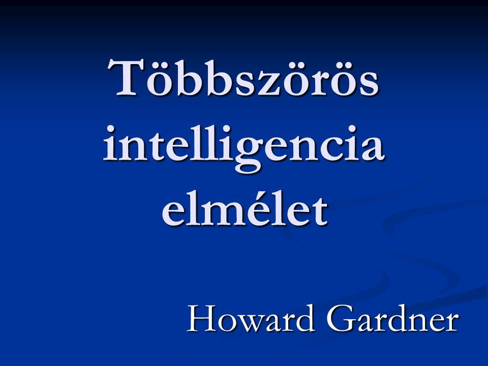 Többszörös intelligencia elmélet Howard Gardner