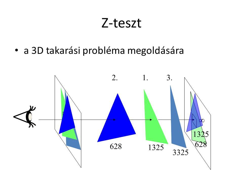 Z-teszt a 3D takarási probléma megoldására  1325 628 1325 628 3325 1.2.3.