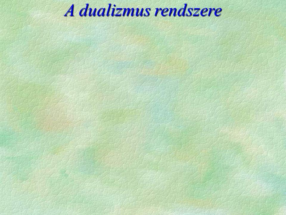 A dualizmus rendszere