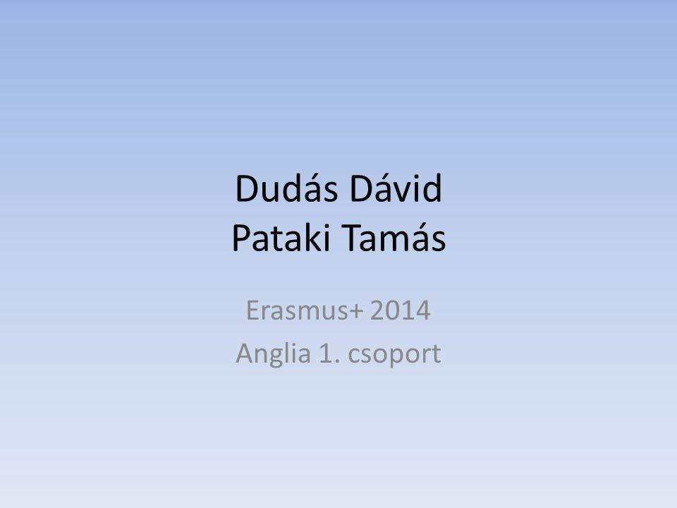 Dudás Dávid Pataki Tamás Erasmus+ 2014 Anglia 1. csoport