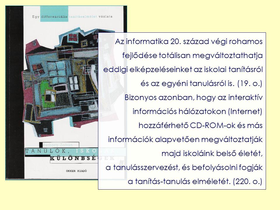 Az informatika 20.