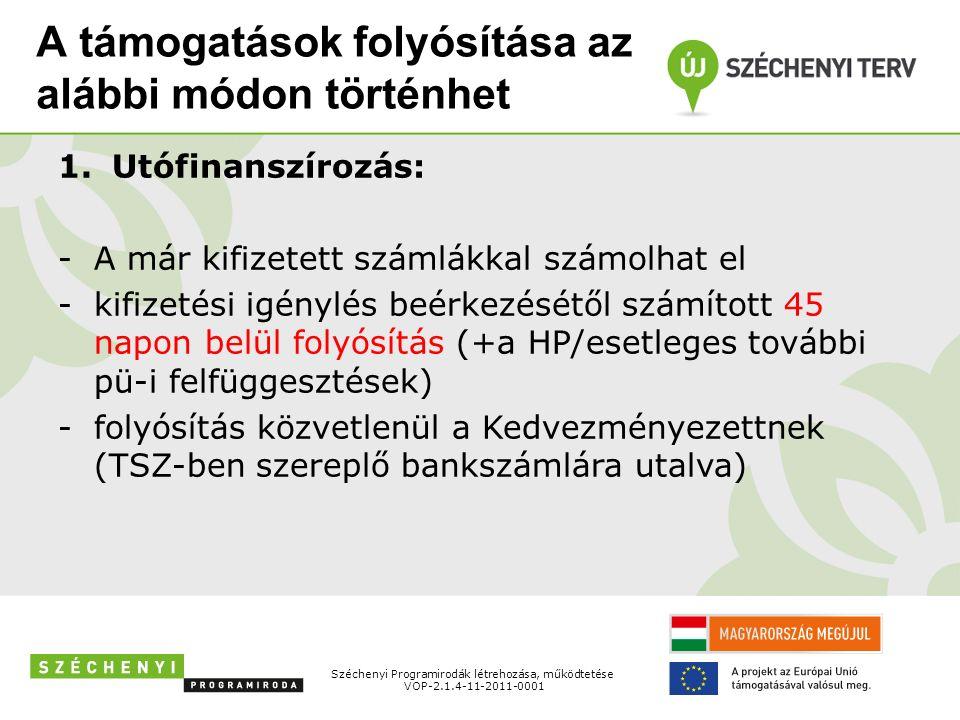 Konzorciumokra vonatkozó szabályok A projekt megvalósítására a konzorciumi tagok konzorciumi együttműködési megállapodást kötnek, amely a támogatási szerződés elválaszthatatlan részét képezi.