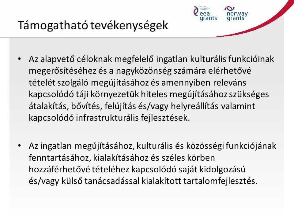 Támogatható tevékenységek Projektmenedzsment: – adminisztratív (folyamatkövetési, pénzügyi-könyvelési, jogi, műszaki, közbeszerzési eljárásokkal kapcsolatos) és projekthez kapcsolódó egyéb tevékenységek, beleértve a donor partnerekkel közös Magyarországon vagy donor országban megvalósuló bilaterális tevékenységeket.