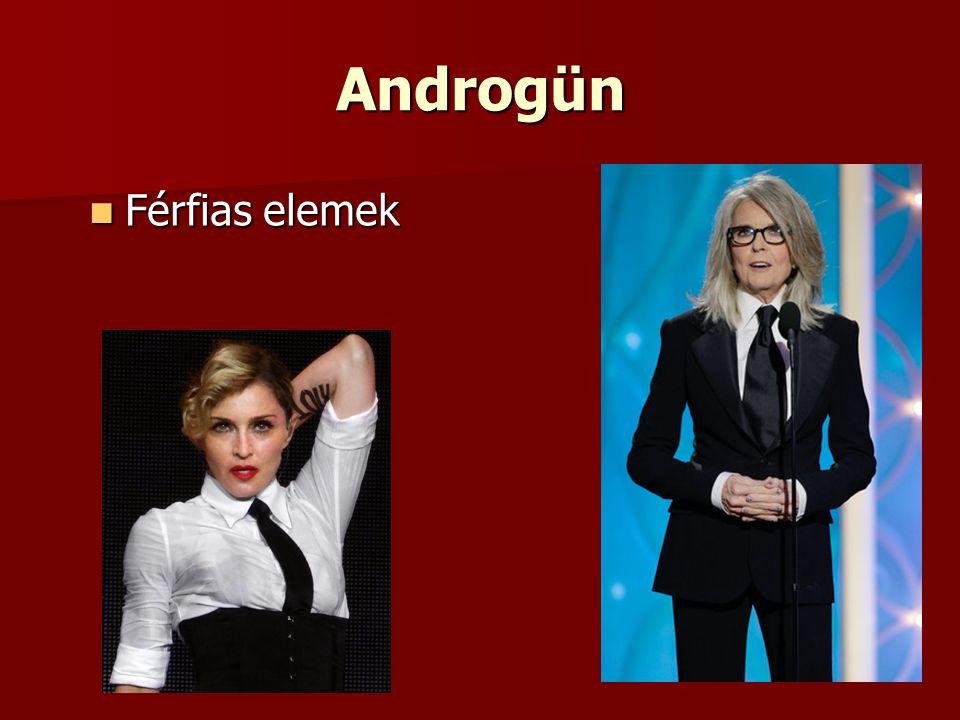Androgün Férfias elemek Férfias elemek