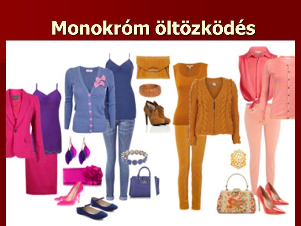 Monokróm öltözködés