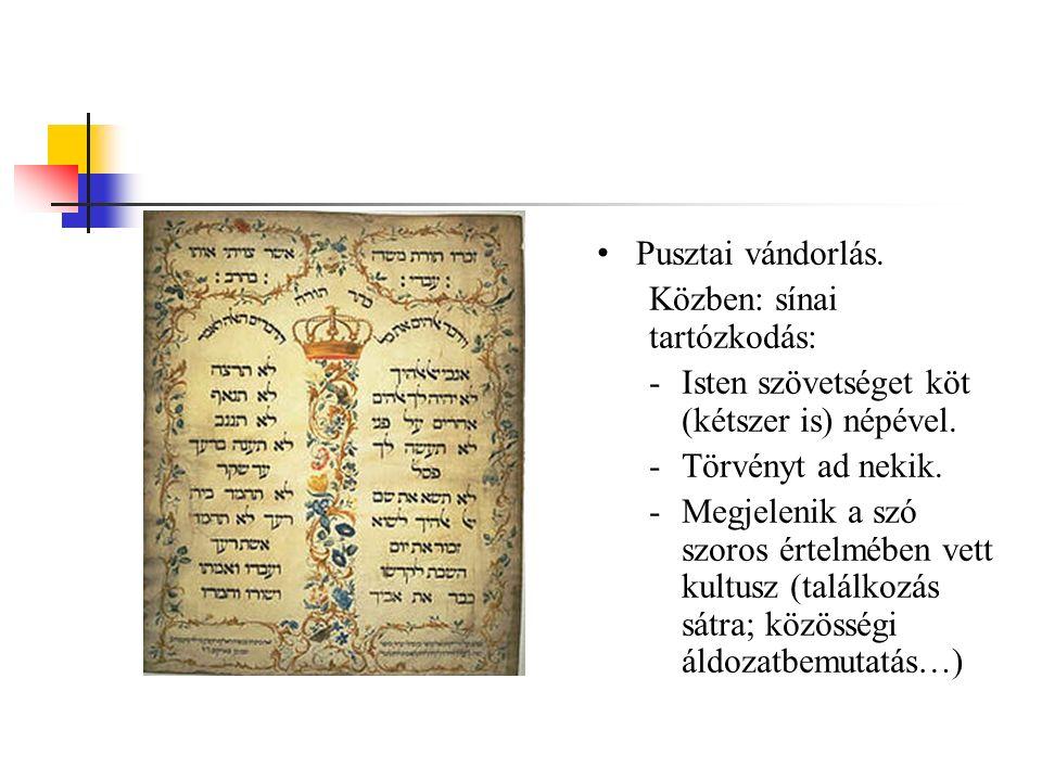 """Mtörv vége: Izrael – Mózes és Józsué vezetésével – megérkezik az """"Ígéret földjére ."""