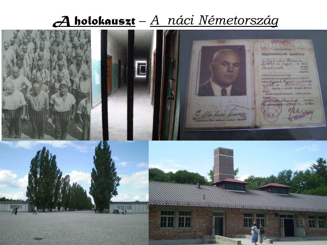 A holokauszt – A náci Németország