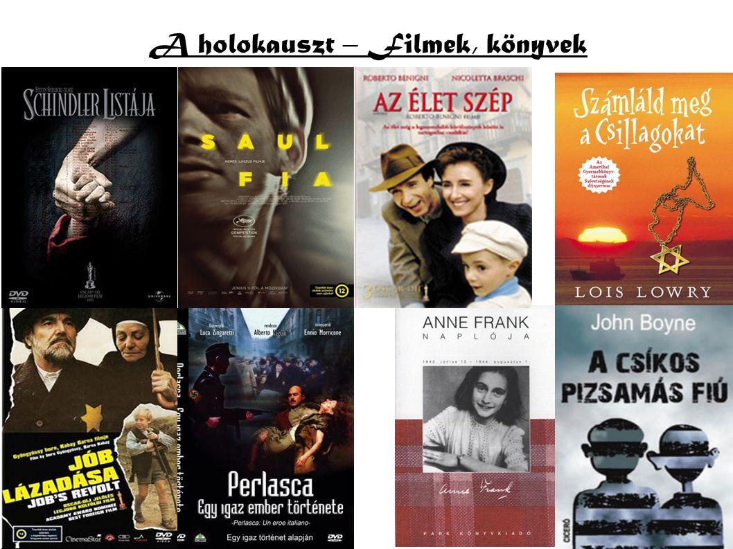 A holokauszt – Filmek, könyvek
