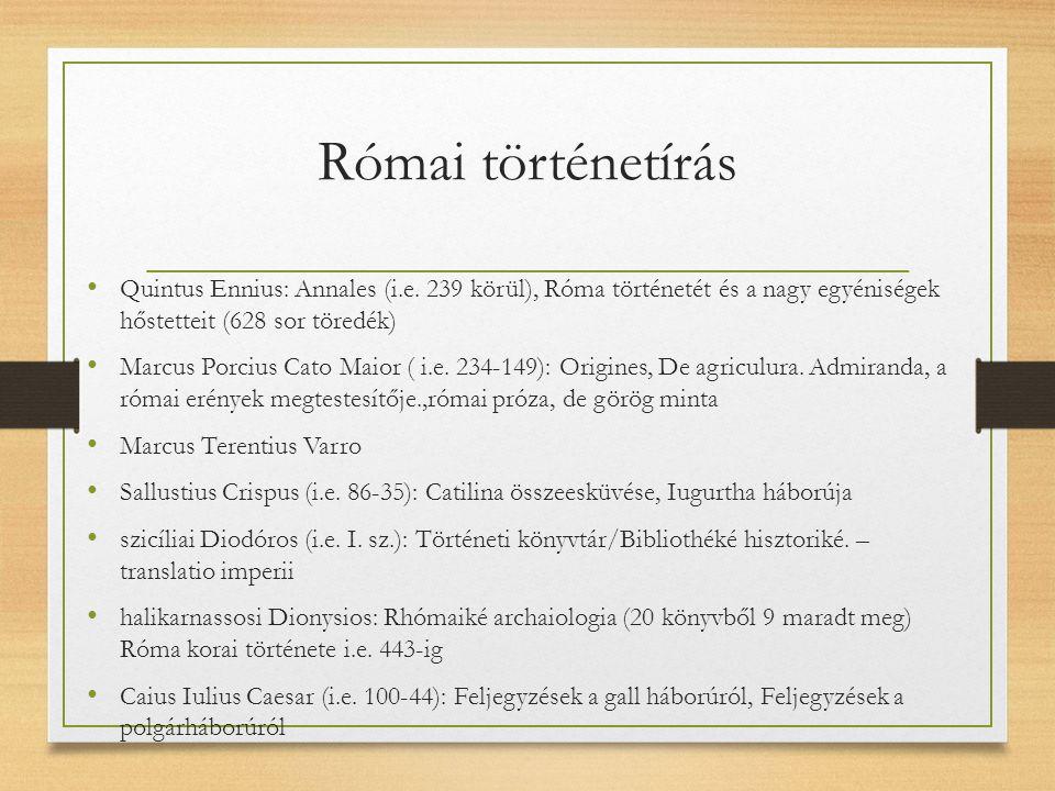 Római történetírás amaseiai Strabón (i.e. 63 – i.