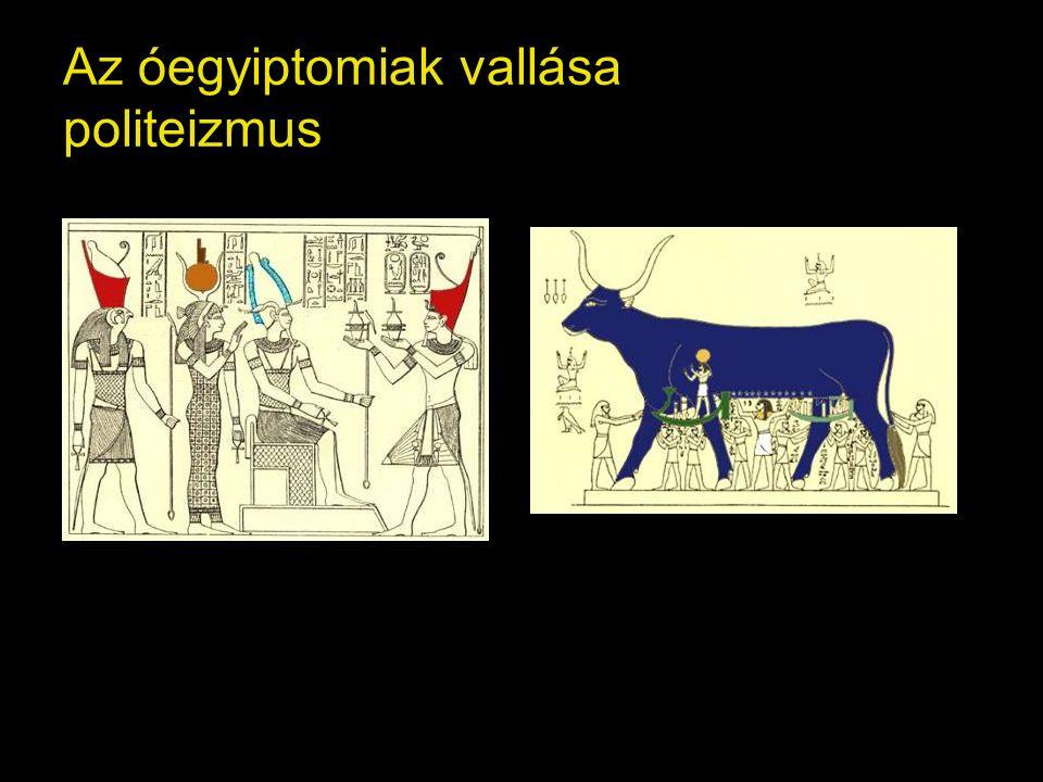 Az óegyiptomiak vallása politeizmus