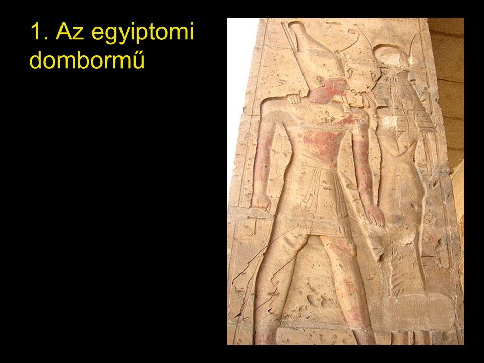 1. Az egyiptomi dombormű