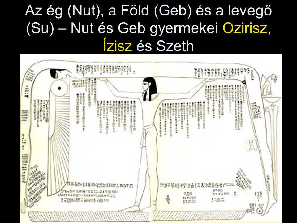 6. Példák: a/ Fáraó vadászaton, thébai falfestmény, Újbirodalom, i. e. 14. sz.