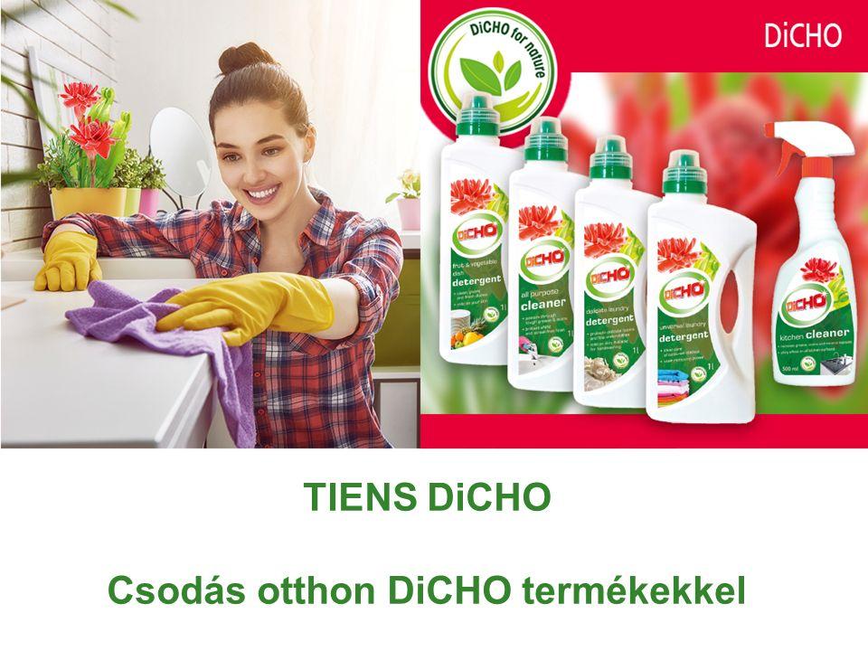 TIENS DiCHO Csodás otthon DiCHO termékekkel
