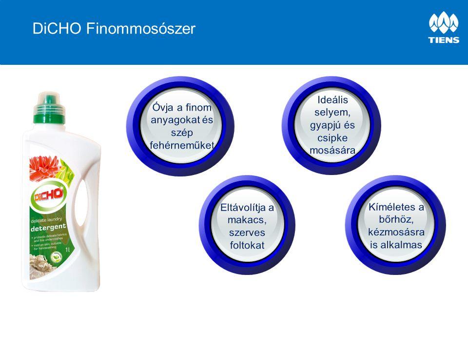 Főbb jellemzők és előnyök JellemzőElőny Koncentrált formulaKöltséghatékony Kisebb műanyag csomagolás Kiváló teljesítmény és hatékonyságIdő és pénz takarékos Jobb tisztító hatás Kíméletes a bőrhözNem szárítja vagy irritálja a bőrt Biológiailag lebomlóKörnyezetbarát Természetes anyagokat tartalmazBiztonságos használat az egész család és az otthon számára