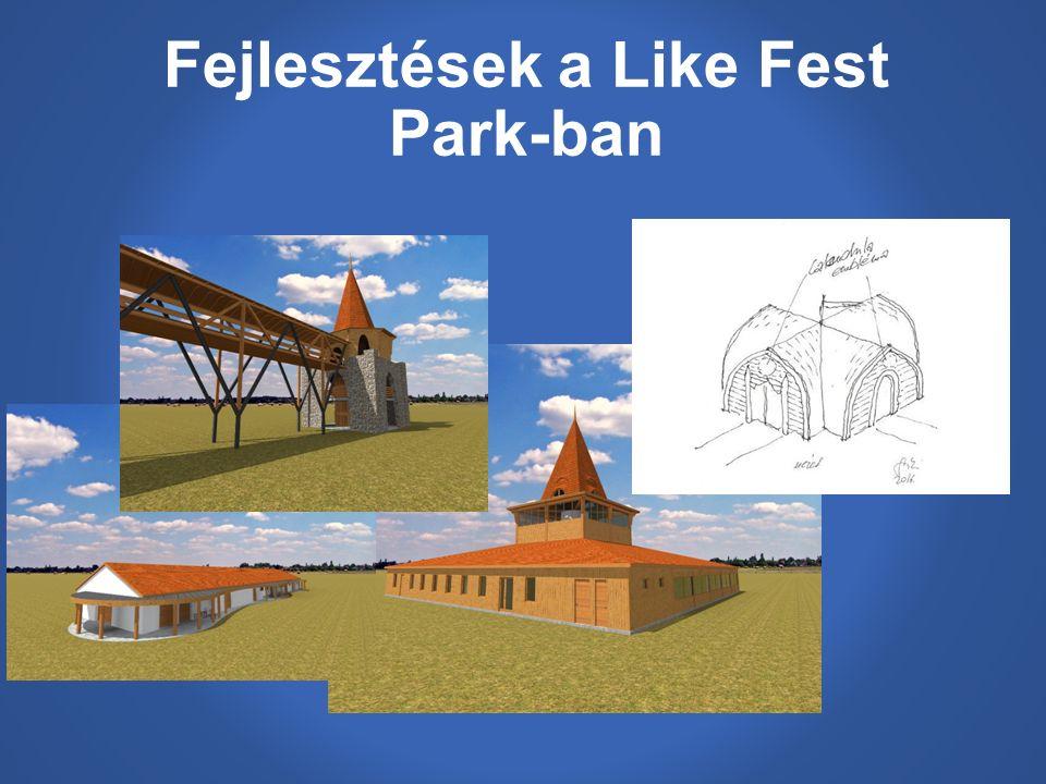 Fejlesztések a Like Fest Park-ban