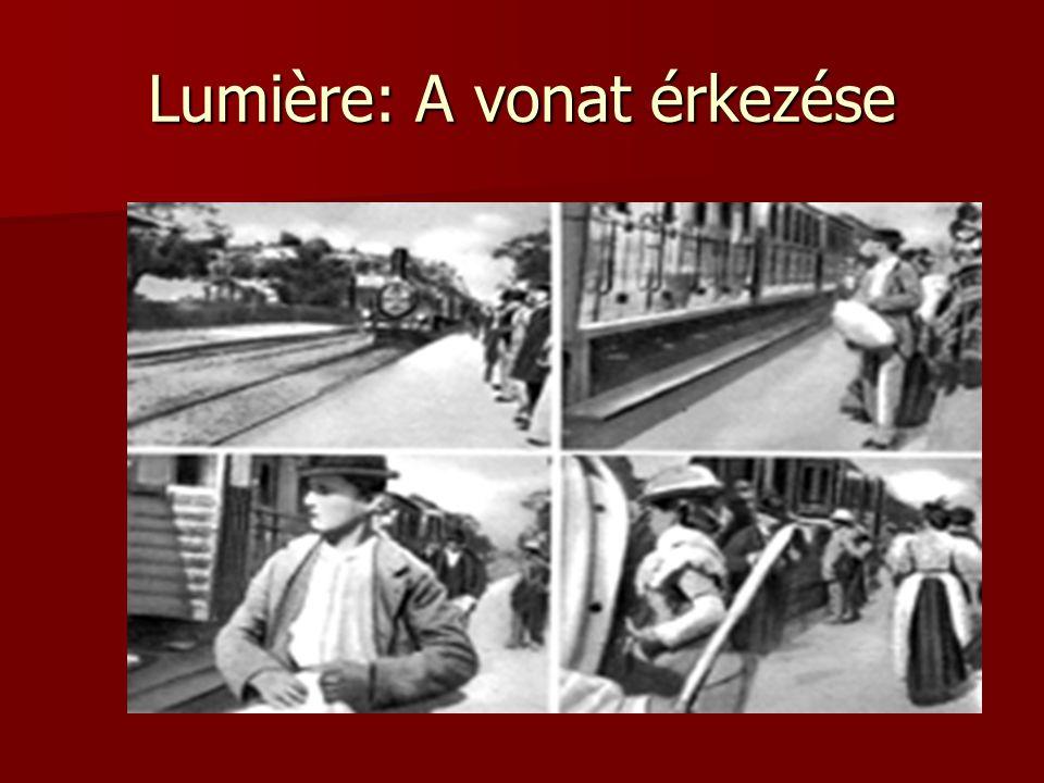 Lumière: A vonat érkezése