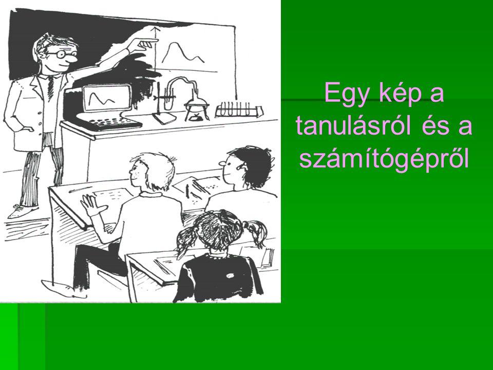 Egy kép a tanulásról és a számítógépről