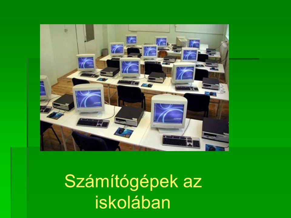 Számítógépek az iskolában