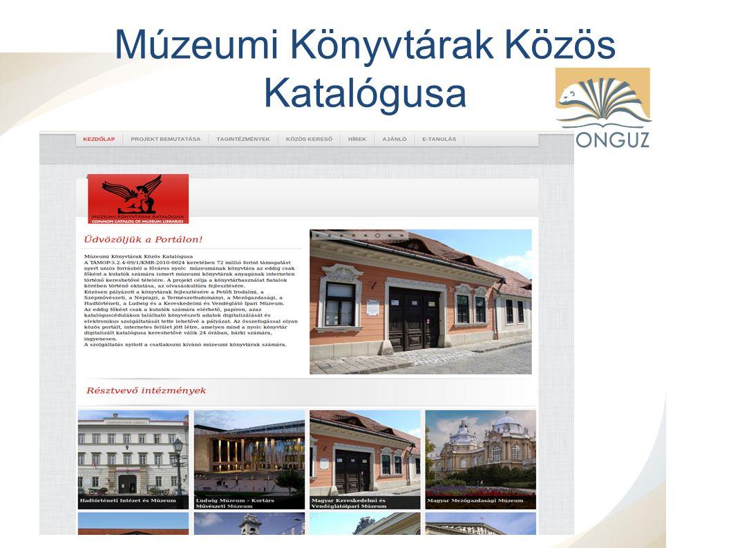 Múzeumi Könyvtárak Közös Katalógusa