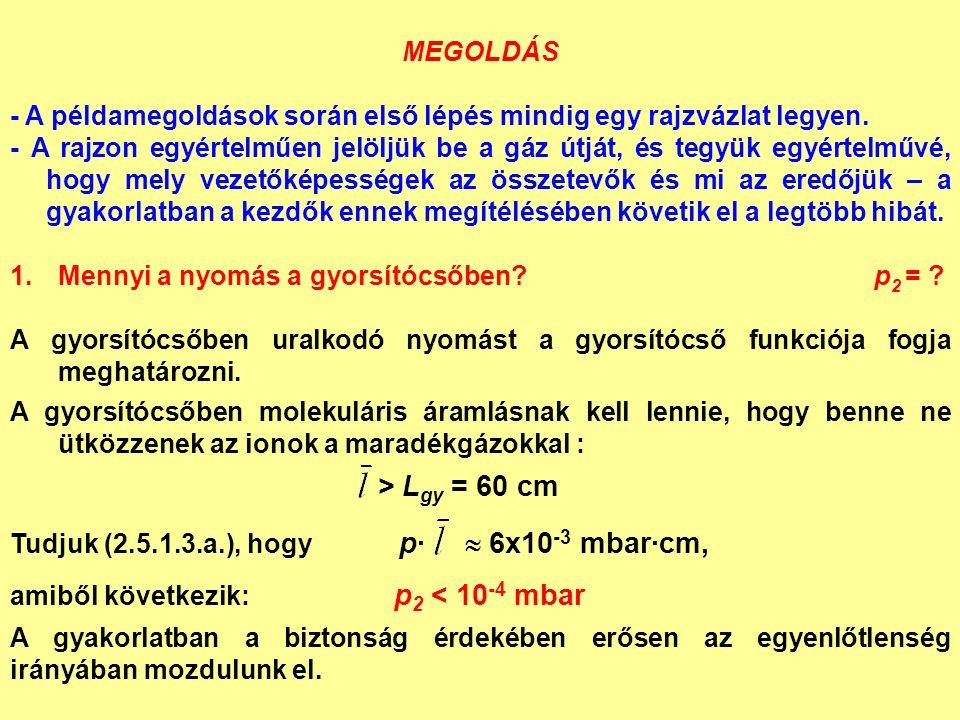 MEGOLDÁS - A példamegoldások során első lépés mindig egy rajzvázlat legyen.
