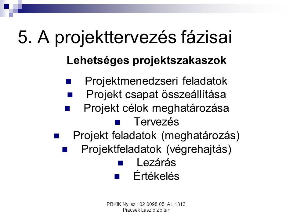 PBKIK Ny. sz.: 02-0098-05; AL-1313, Piacsek László Zoltán 5.