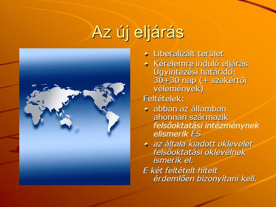 Közös képzés Magyar felsőoktatási intézmény külföldi felsőoktatási intézménnyel a következő feltételek együttes fennállása esetén folytathat magyar vagy külföldi, illetve közös oklevél kiállításához vezető közös képzést (MAB): a felsőoktatási intézmények jogosultak a képzés folytatására, a képzés megszervezésében az érintett felsőoktatási intézmények megállapodtak, az érintett felsőoktatási intézmények abban az államban, amelyben a székhelyük van, államilag elismert felsőoktatási intézménynek minősülnek, a kiállított oklevél az érintett országok belső joga szerint felsőoktatásban kiállított oklevélnek minősül, a megállapodásból egyértelműen kiderül, hogy melyik magyar alap-, mesterképzés, doktori képzés vagy szakirányú továbbképzés követelményeinek felel meg a közös képzés.
