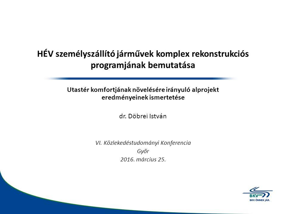 Budapesti HÉV közlekedés szerepe és fejlődése A helyi érdekű (mai terminológiában elővárosi) közlekedés kialakulását, fejlődését a XIX.