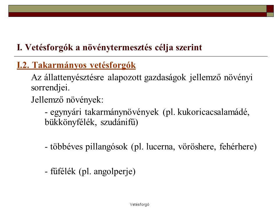 Vetésforgó II.