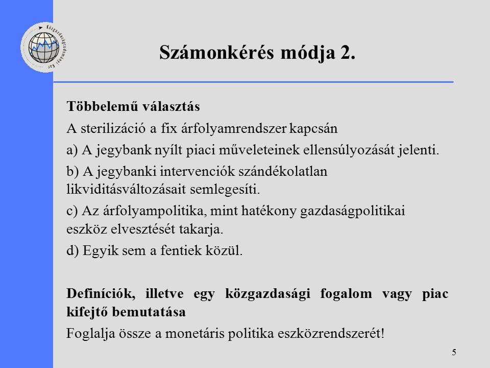 5 Számonkérés módja 2.