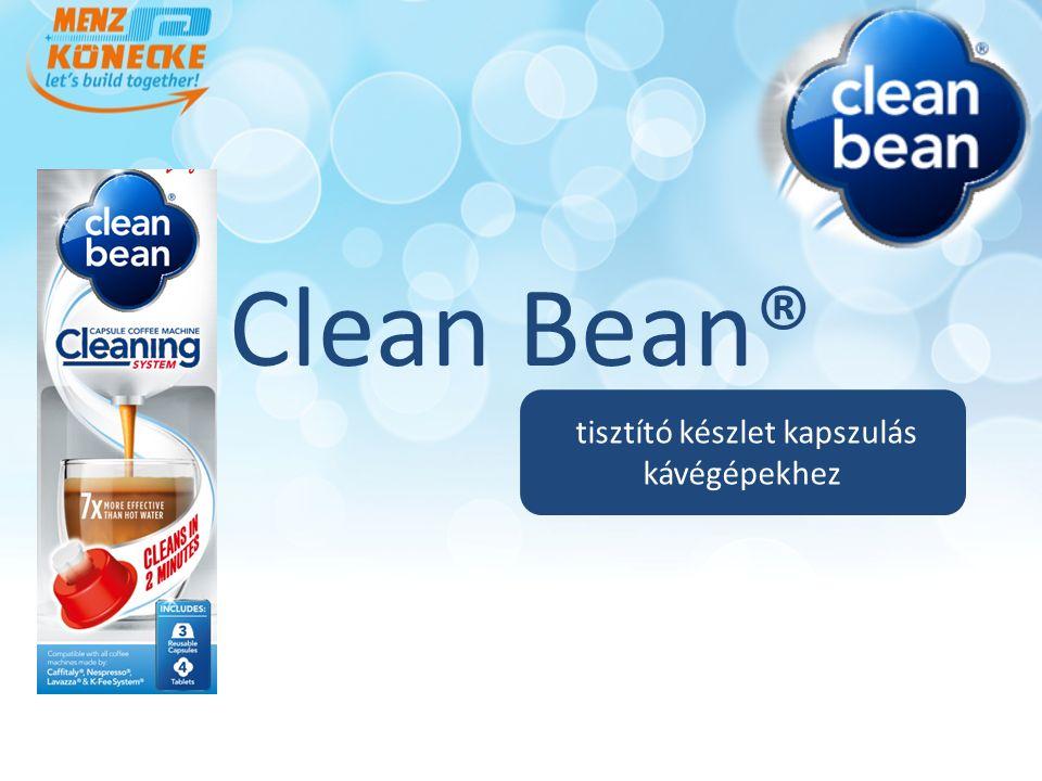 Clean Bean® tisztító készlet kapszulás kávégépekhez