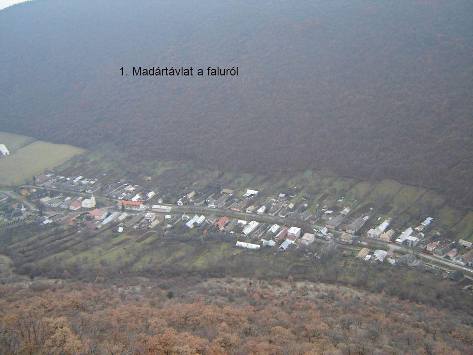 1. Madártávlat a faluról